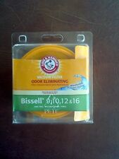 Arm & Hammer BISSELL VACUUM FILTER Washable 9 10 12 16 NEW