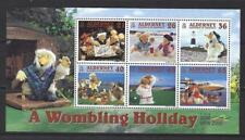 ALDERNEY 2000 WOMBLING HOLIDAY - THE WOMBLES MINIATURE SHEET UNMOUNTED MINT