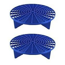 GRIT GUARD 12 IN WASH BUCKET BLUE 2 PACK DIRT SEPARATOR INEXPENSIVE INSURANCE