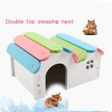 1pcs Hamster Toy Hamsters Nest Cage Pet Nest Climb Toys Small Pet House Au