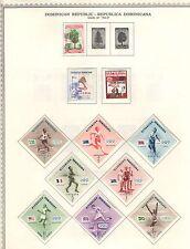 Q2273 - DOMINICANA - 1957 - COLLEZIONE * - VEDI FOTO