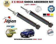 FOR MITSUBISHI OUTLANDER 2.0 2.2 DID 2.4 2006-2012 2 x REAR SHOCK ABSORBER SET