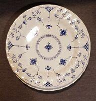 "MYOTT Finlandia Blue/White 4 Dinner Plates Staffordshire England 9 7/8"""
