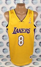 LOS ANGELES LAKERS #8 BRYANT BASKETBALL NBA CHAMPION SHIRT JERSEY TRIKOT XL