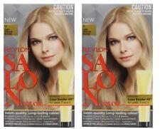 2 x REVLON SALON HAIR COLOR 9 LIGHT NATURAL BLONDE 100% Brand New