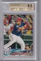 2018 Topps Update #US300 Juan Soto RC Rookie Nationals BGS 9.5 True Gem Quad 9.5