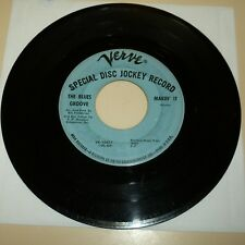 NORTHERN SOUL 45 RPM RECORD - THE BLUES GROOVE - VERVE 10417 - PROMO