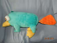 """Authentic Disney Store Phineas and Ferb 37"""" Perry the Platypus Jumbo Big Plush"""
