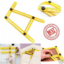 Four-Sided Ruler Mechanism Measuring Instrument Angle-izer Template Hand Tool
