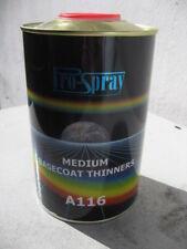 Basecoat Thinner x 1 litre for base coat paint 2k