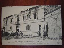 AY : Révolution  en Champagne, Avril 1911. La Maison Gallois Incendiée.
