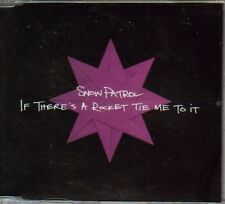 Snow Patrol - If There's A Rocket Tie Me To It - Scarce UK promo only CD