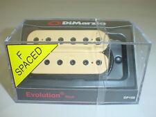 DIMARZIO DP158 Evolution Neck Humbucker Guitar Pickup - CREAM - F SPACING