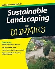 Sustainable Landscaping For Dummies by Dell, Owen E. (Paperback book, 2009)