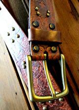 Vintage Studded Leather Belt Marley Honest Boho Bohemian Brighton Size 28