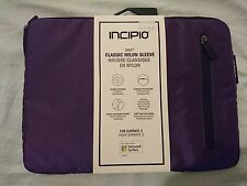 """Genuine INCIPIT ORD Classic Nylon Sleeve for Surface 3  10.8""""  Device (Purple)"""