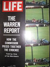LIFE Oct 2 1964 Warren Report, R Welch, Space race, 1965 car ads, Tittle, B-70