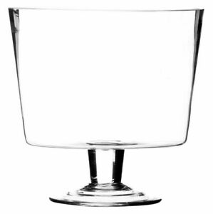 Ravenhead Entertain Footed Trifle Bowl Home Table Dinnerware 20cm - Clear