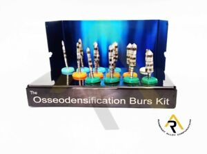 Universal Osseodensification Implant Burs Drills Kit Dental 13 PCs high quality