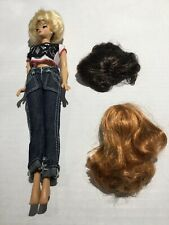 Barbie With Wigs
