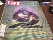 LIFE APRIL  4th 1969 - SEX IN THE LIVELY ARTS - HOW FAR IS ENOUGH  - GREAT ADS