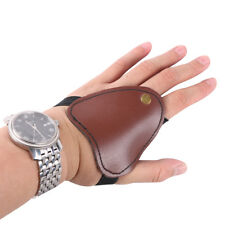 Archery Hand Guard Protector Protective Glove Left hand Leather Hunting Shooting