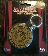 Battlestar Galactica Bsg 75 Keychain Key Chain SyFy Quantum Mechanix 2013 New