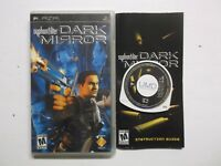 Syphon Filter Dark Mirror Sony Playstation PSP Video Game Complete