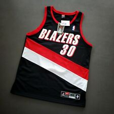 100% Authentic Rasheed Wallace Vintage Nike Portland Blazers Size 44 L Mens
