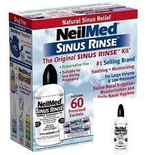 NeilMed Sinus Rinse Kit With Premixed Sachets 60