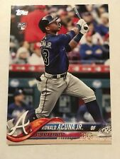 2018 Topps Update Ronald Acuna Jr. Rookie RC Braves