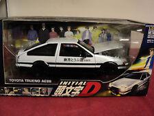 Jada Initial D Toyota Trueno AE86 2004 release rare ,NIB Right hand drive 1/24