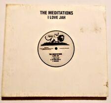 THE MEDITATIONS - I LOVE JAH  CD