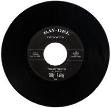 """Billy Bailey """"mejor dejar de C/W Exchange nuestro amor"""" Monster Funk! escucha!"""