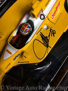 2011 Ryan Hunter Reay Signed DHL SunDrop Indycar 1 18 Greenlight Andretti