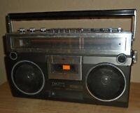 Vintage Toshiba RT-8150S Cassette Recorder Boom Box Ghetto Blaster WORKS