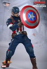 1/6 Hot Toys MARVEL AVENGERS MMS281 CAPTAIN AMERICA STEVE ROGERS ACTION FIGURE