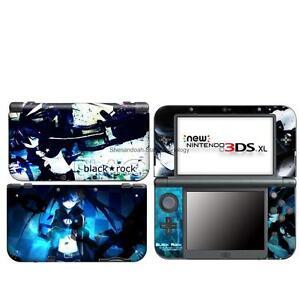 black rock vinyl DECAL Skin Sticker case Cover for Nintendo NEW 3DS XL LL NL2