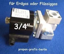 """Gas - Magnetventil 3/4"""" für Erdgas oder Propangas (Hersteller : Elektrogas)"""
