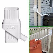 Rainwater Diverter Collection Rain Water Downspouts Barrel  Lawn Garden Oatey
