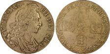 1695 Crown PCGS AU 58 MAKE OFFERS WILLIAM III