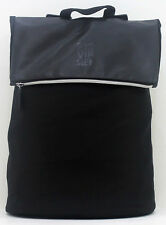 CAROLINA HERRERA BLACK MENS XL BACK PACK RUCKSACK WORK SCHOOL TRAVEL BAG * NEW