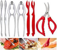 Seafood Tools Crab Crackers Nut Cracker Forks Set Opener Shellfish Lobster Leg