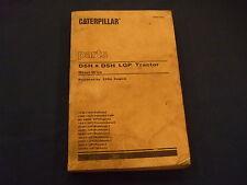 CAT CATERPILLAR D5H & D5H LGP TRACTOR DOZER PARTS BOOK MANUAL S/N 1YD 2SD