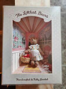Gund The Littlest Bears Grandmother 7004 New in Box