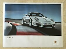 Porsche Factory Poster-2012 911 | 997 Carrera GT3 RS 4.0-Front Rt Shot