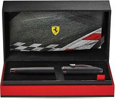 More details for cross townsend ferrari brushed black chemically etched honeycomb rollerball pen