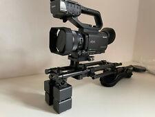 Sony HXR-NX80 Camcorder mit viel Zubehör