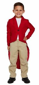BOYS FANTASTIC MR FOX COSTUME DRESS UP OUTFITS BOOK WEEK SIZE 4-12 YRS