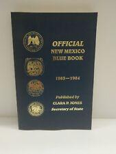 NEW MEXICO BLUE BOOK 1983-1984